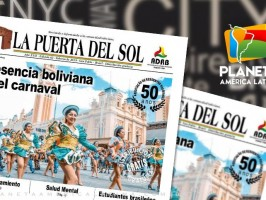 Edição nº 62 do Jornal boliviano - La Puerta Del Sol