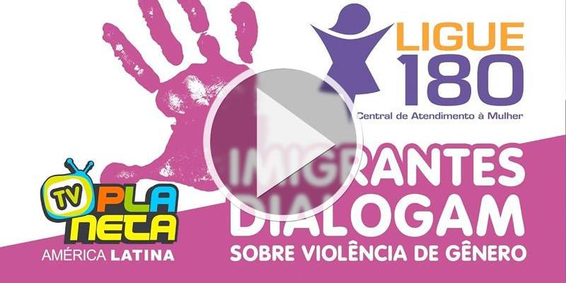 Mulheres conversam sobre violência de gênero em São Paulo