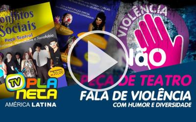 Peça de teatro expõe violência urbana no centro de São Paulo