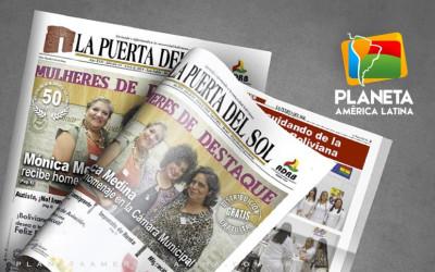 Edição nº 64 do Jornal boliviano - La Puerta Del Sol