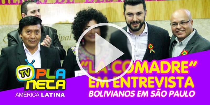 La Comadre Mónica em entrevista, conta suas experiências com os imigrantes bolivianos em São Paulo