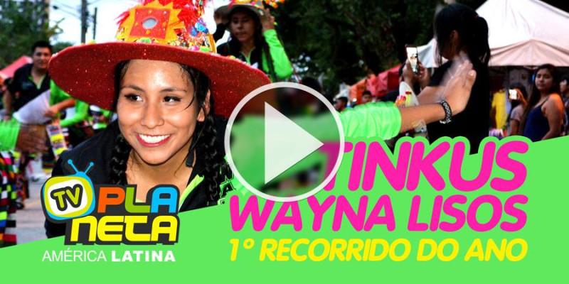 Primeiro Recorrido dos TINKUS BOLIVIA WAYNA LISOS em São Paulo