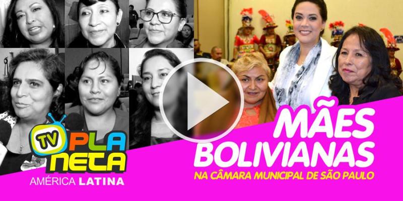 Mães bolivianas festejam seu dia na Câmara Municipal de São Paulo