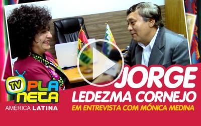 A Comadre Mónica entrevista o Dr. Jorge Ledezma, Cônsul Geral da Bolívia em São Paulo - SP Brasil