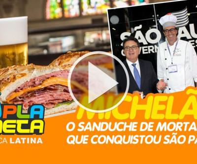 Mortadela do Michelão, cartão postal paulistano criação de Michel Tuma Ness