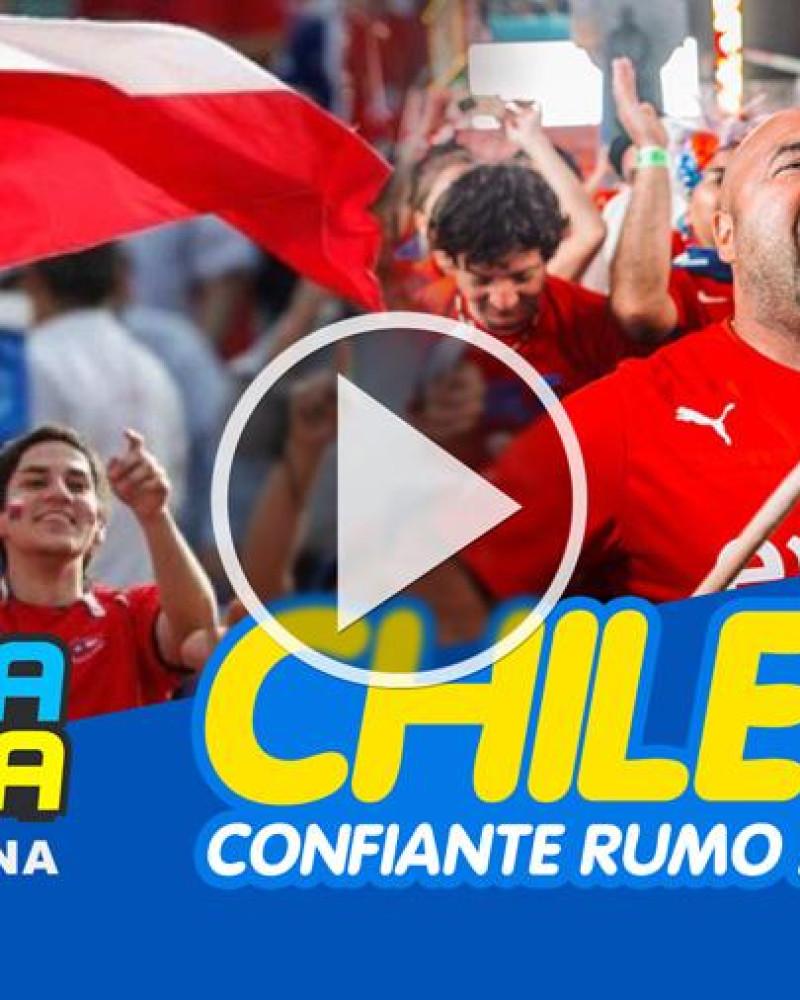 Torcida chilena confiante no título na Copa América 2019, envia mensagem ao povo boliviano