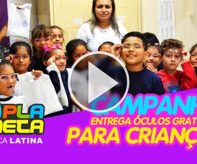 Campanha descobre deficiência visual entre crianças descendentes de imigrantes bolivianos