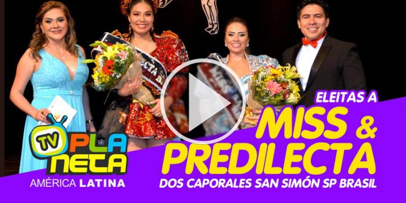 Eleitas Predilecta & Miss dos Caporales San Simón em São Paulo