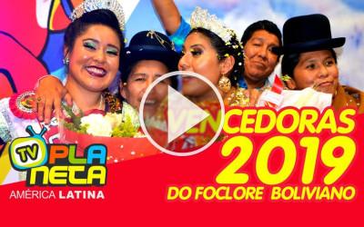 Erika e Margot, são as representantes do folclore boliviano 2019 em território Brasileiro