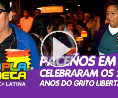 Paceños festejaram os 210 anos do grito libertário de  Pedro Domingo Murillo em La Paz