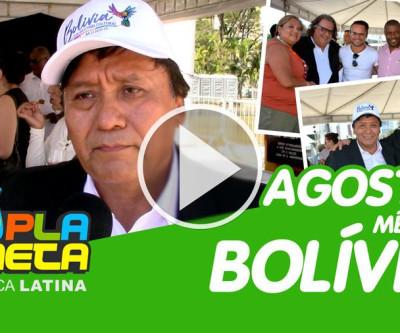Agosto o mês da Bolívia, 194 anos de independência da Bolívia na festa Fé e Cultura 2019