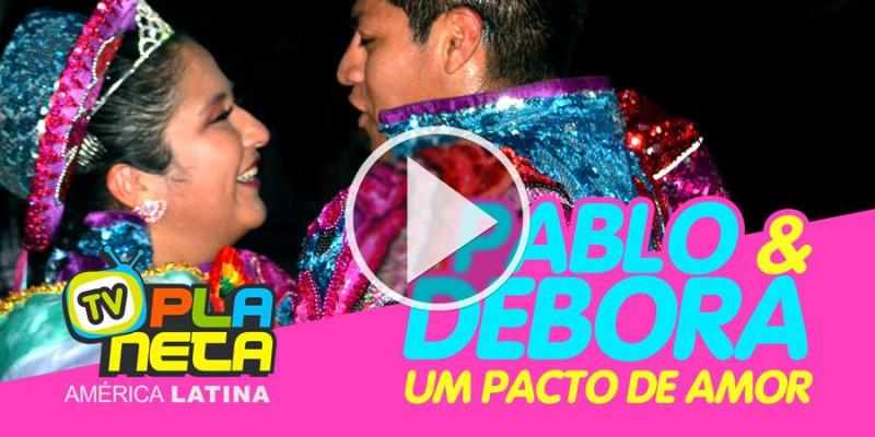 Promessa de amor eterno na festa boliviana Fé e Cultura 2019