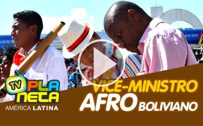 Vice-ministro afro boliviano, na festa Fé e Cultura 2019 no Memorial da América Latina