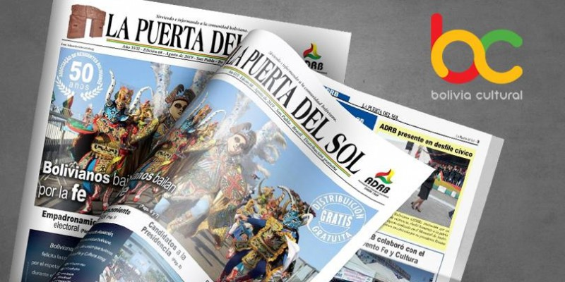 Edição nº 68 do Jornal boliviano - La Puerta Del Sol