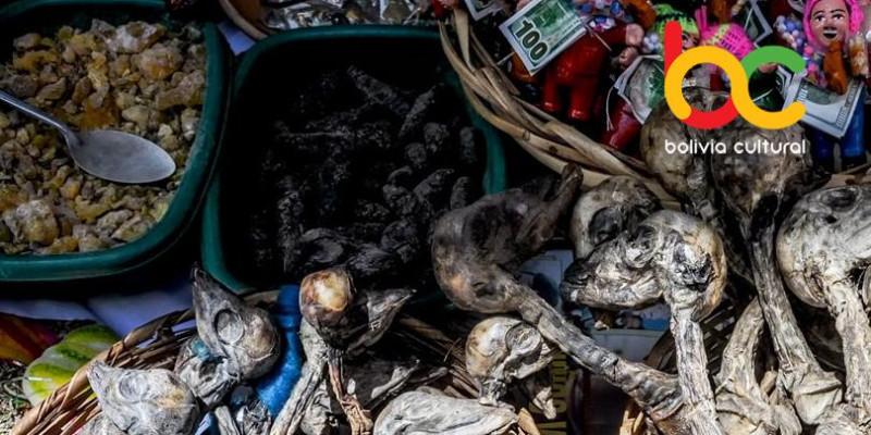 Mercado de Las Brujas e o sincretismo boliviano