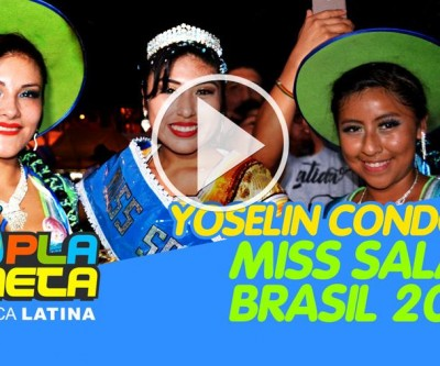 Yoselin Condori Miss Salay Brasil 2019