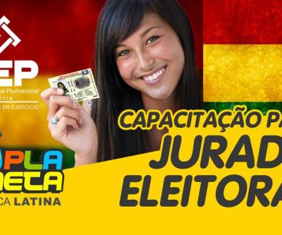 Capacitação de Jurado Eleitoral para a Eleição Geral Boliviana 2019, em São Paulo