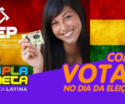 Como devo votar no dia da Eleição Geral Boliviana 2019, em São Paulo?