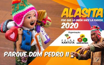 Convocatória para expositores, ALASITA - SP - 2020