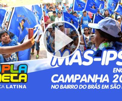 Encerrada campanha eleitoral do MAS em São Paulo