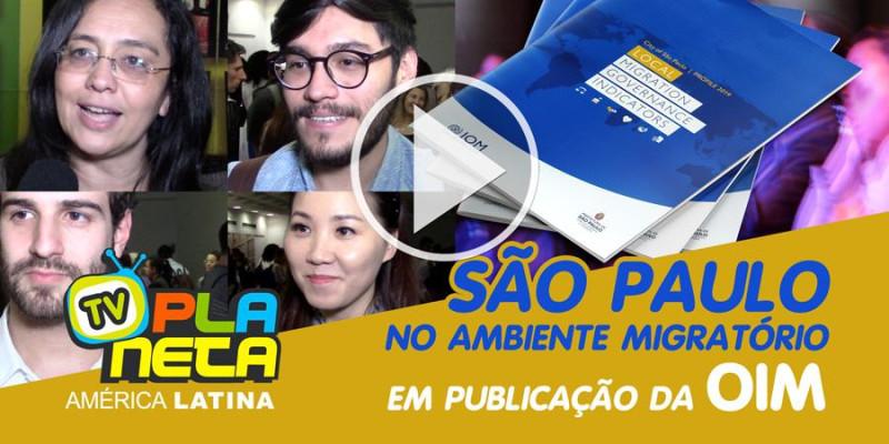 Imigrantes comentam sobre publicação de indicadores (OIM) na gestão migratória em São Paulo