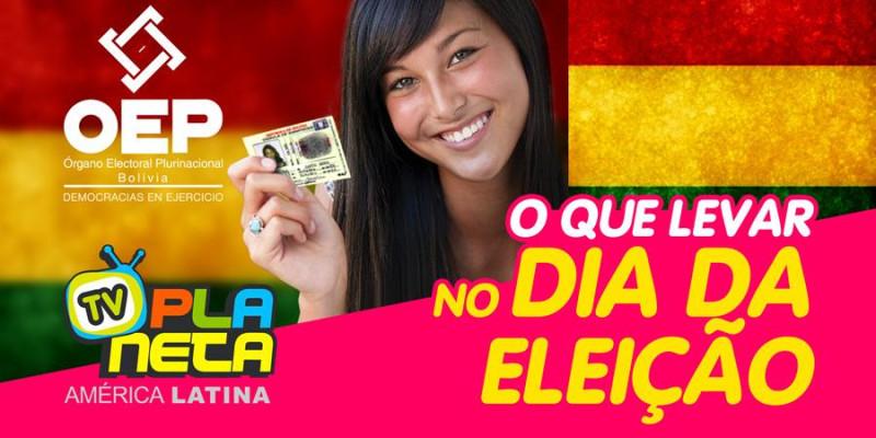 Que documento levar no dia da Eleição Geral Boliviana 2019, em São Paulo