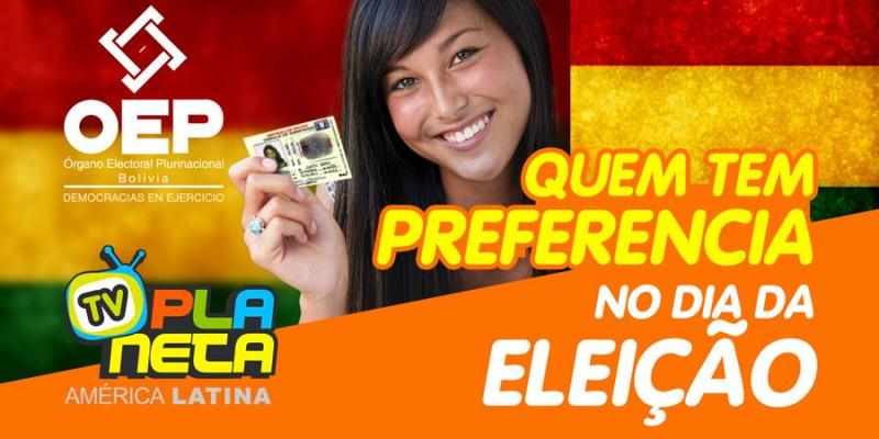 Quem tem preferencia na Eleição Geral Boliviana 2019, em São Paulo