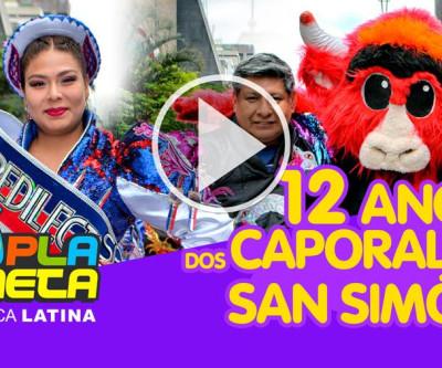 12 anos dos Caporales San Simón no Brasil