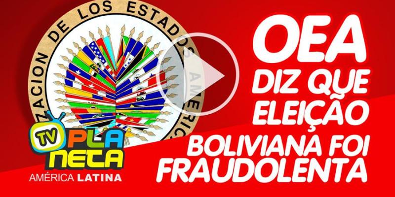 Após auditoria da OEA , Evo Morales anuncia novas eleições na Bolívia