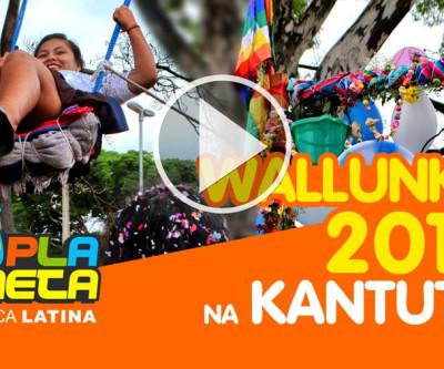 Assim foi a WALLUNKA 2019 na praça Kantuta em São Paulo