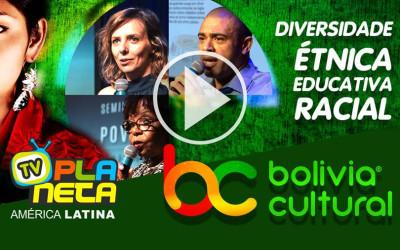 Bolívia Cultural recebe elogios de autoridades da Secretaria Municipal de Educação, no Seminário Povos Imigrantes 2019