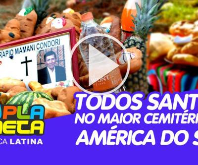 Celebração de Todos Santos no maior cemitério Sul-americano em SP