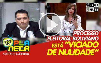 Empresa auditora assinala que o processo eleitoral boliviano está - Viciado de nulidade.