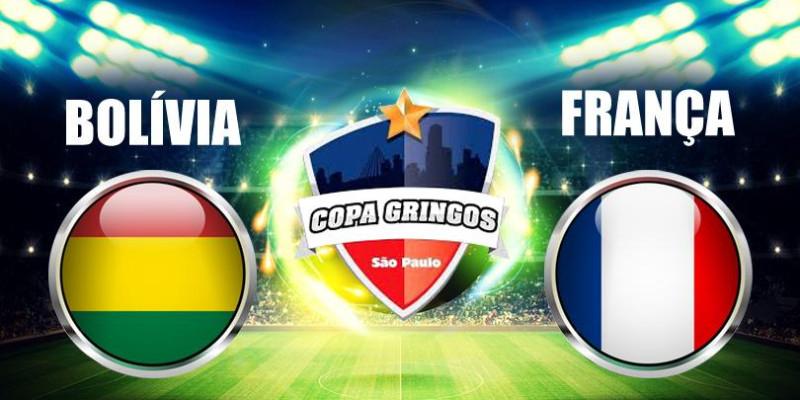 Bolívia enfrenta a França na final da Copa Gringos em São Paulo.