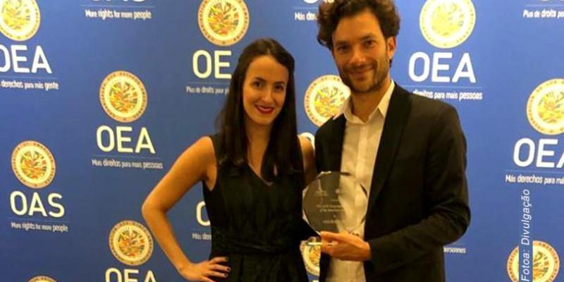 Migraflix recebe prêmio  em Washington - EUA