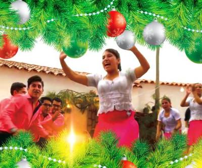 Natal na Praça kantuta ao ritmo de villancicos chuquisaqueños