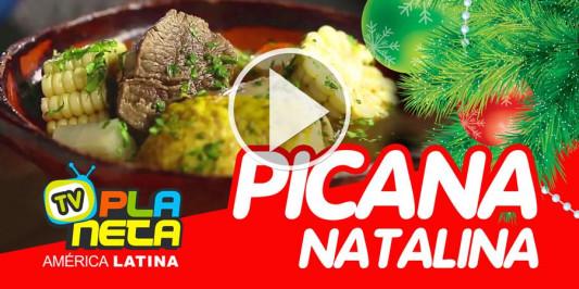 Picana Navideña Boliviana
