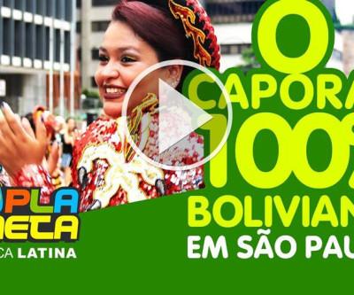 Dança do Caporal 100% boliviano