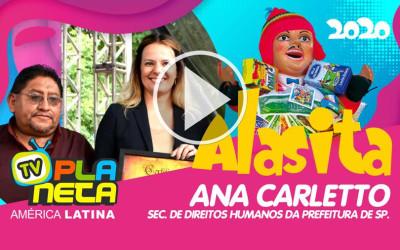 A Feira de ALASITA recebeu a Sec. de Direitos Humanos da Prefeitura de São Paulo