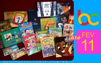 Mostra Quadrinhos Infantis Brasileiros vai até 11 de fevereiro