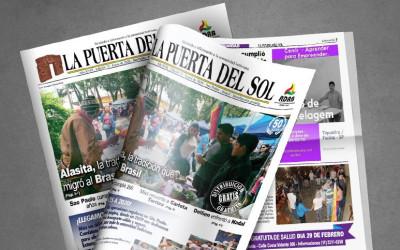 La Puerta Del Sol em SP - Edição nº 73 do Jornal boliviano