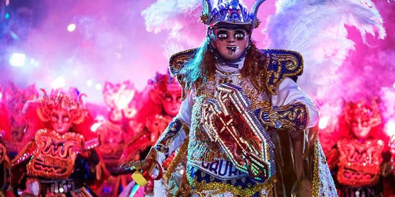 La Diablada simbolo do Carnaval Boliviano