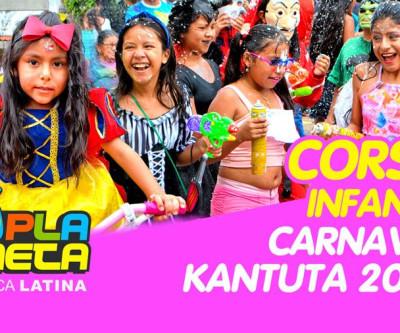 Brilho de cores no Corso Infantil no Carnaval Boliviano 2020 em SP