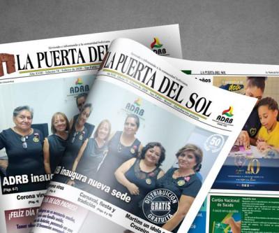 La Puerta Del Sol em SP - Edição nº 74 do Jornal boliviano