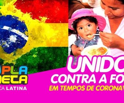Campanhas unidas contra a fome de famílias em tempos da COVID-19