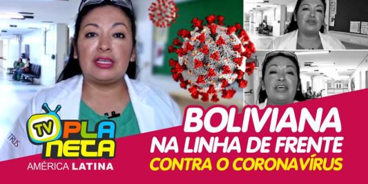 A boliviana anestesiologista Sonia Flores na linha de frente contra o coronavírus em São Paulo