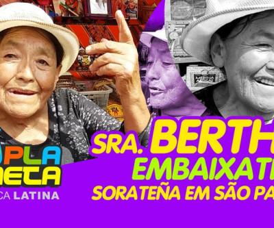 Faleceu a Sra. Bertha, pioneira da gastronomia boliviana de rua em São Paulo