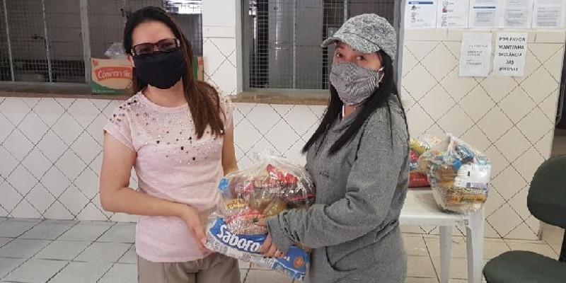 Campanha solidária da Missão Paz em plena atividade
