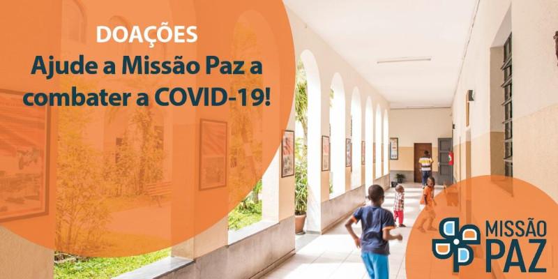 Como ajudar a Missão Paz durante a pandemia de COVID-19