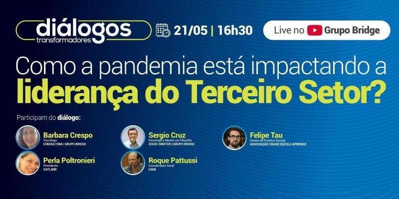 Live - Como a pandemia está impactando a liderança do Terceiro Setor?